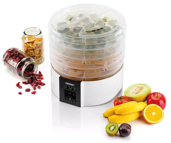Suszarka do grzybów, warzyw i owoców ZELMER ZFD2350W