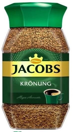 Kawa rozpuszczalna Jacobs Kronung w słoiku