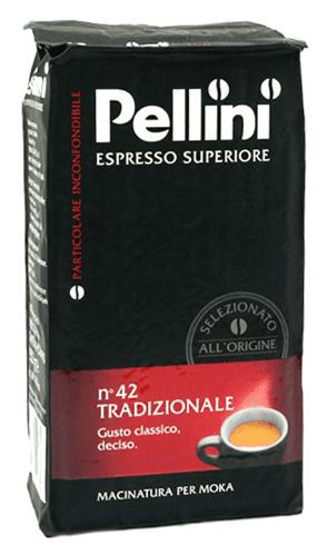 Kawa mielona Pellini Espresso Superiore no 42 Tradizionale 250g