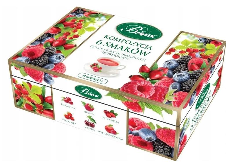 Herbata Zestaw Biofix Kompozycja Owocowa 60X2 G